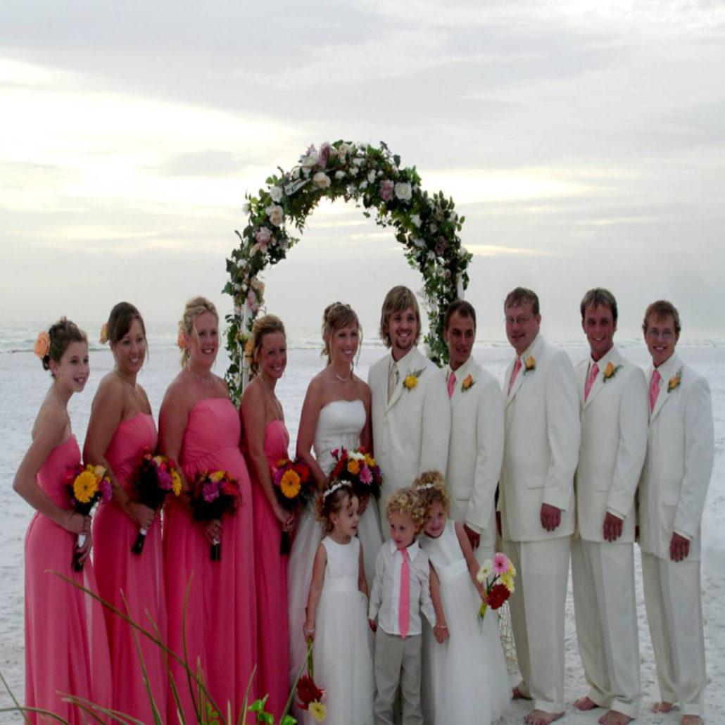 Siesta Key Beach Wedding Ceremony