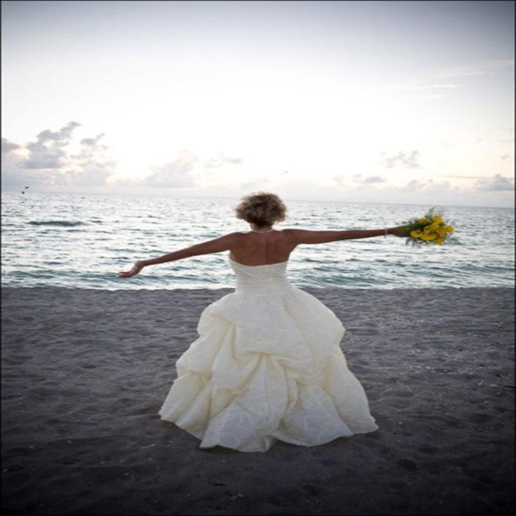 Siesta Key Beach Wedding Ceremony: 36. Bride Beach On Siesta Key FL