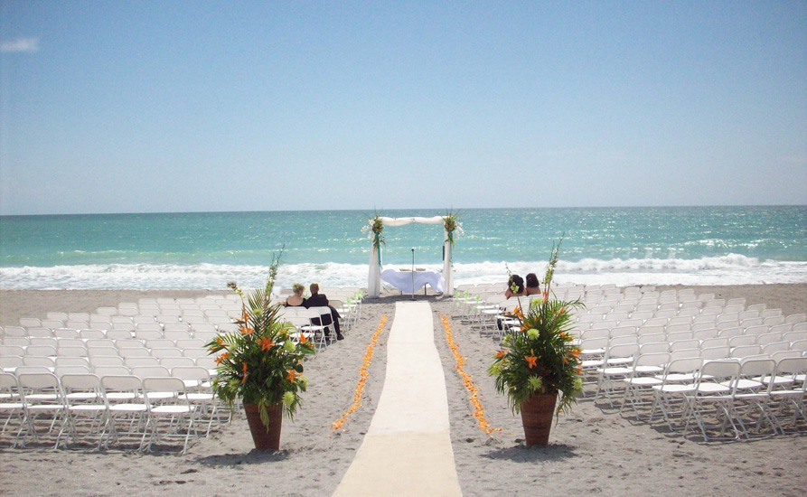 Large Beach Wedding Sarasota FL