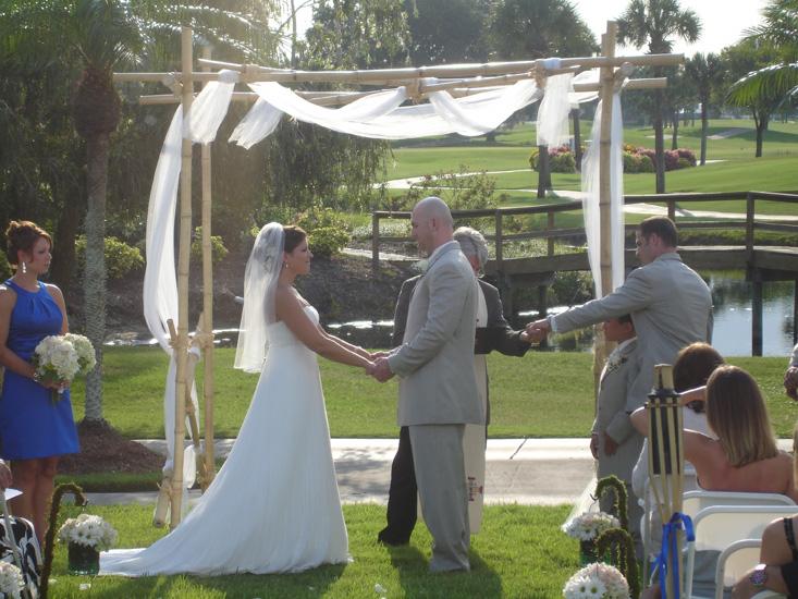 Trellis Outdoor Wedding Ceremonies: 61. Wedding Ceremony Garden Decorations Bamboo Trellis