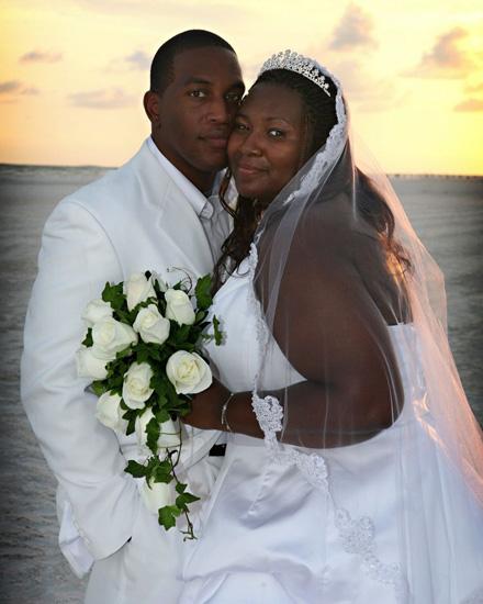 Siesta Key Beach Wedding Ceremony: 65. Wedding Couple On Beach Of Siesta Key FL