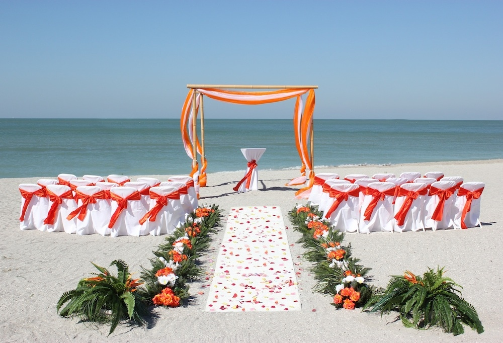 1 Ocean Waves Florida Beach Wedding Siesta