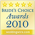 Wedding Wire 2010 Couple's Choice Award for Florida Sun Beach Weddings