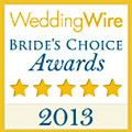 Wedding Wire 2013 Couple's Choice Award for Florida Sun Beach Weddings