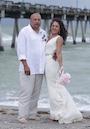 Amanda and Jacques got married on Venice beach florida   review for beach wedding florida sun weddings