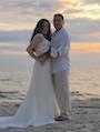 Maria and Ulises got married on Siesta Beach Florida   review for florida sun weddings for their beach wedding