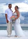 Rosie and Jose got married on Lido Beach Florida   review for florida sun weddings
