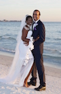 Theresa and Troy got married on Lido Beach Florida   beach wedding in Florida