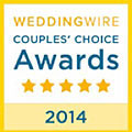 Wedding Wire 2014 Couple's Choice Award for Florida Sun Beach Weddings