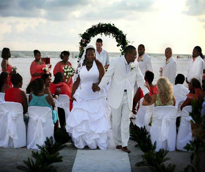Siesta Key Beach Wedding Ceremony: 66. Wedding Decorations Ceremony Arch Siesta Key FL