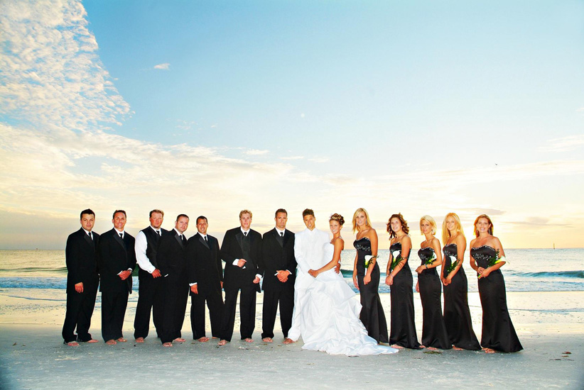 67 Wedding Party Beach Ceremony Siesta Fl Florida Beach Wedding Siesta Destination Wedding