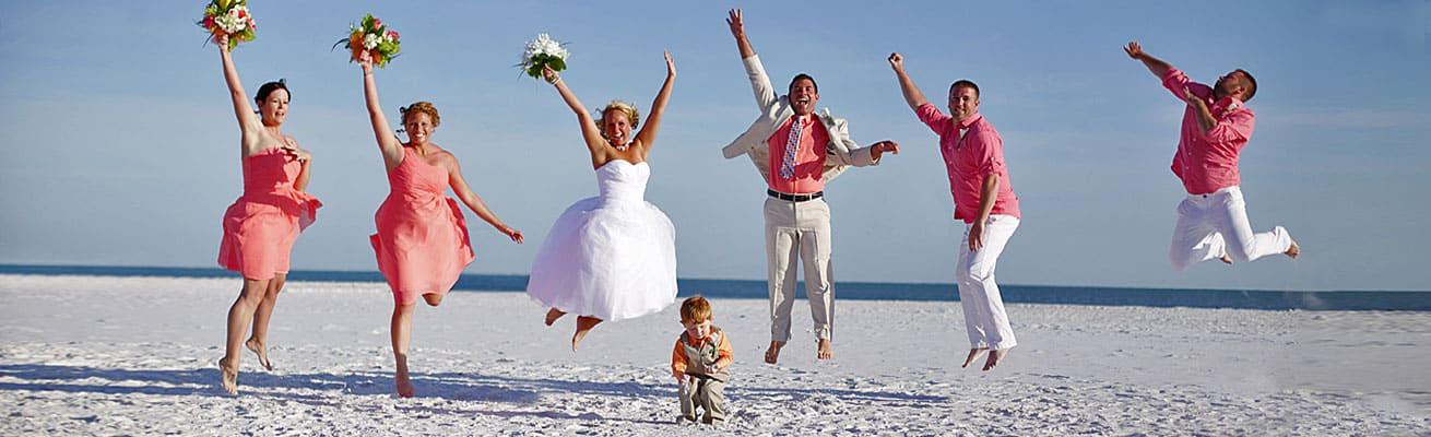 Florida Sun Weddings Beach Photography by Cristina Gebel