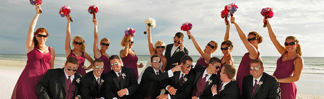 Planning Coordinating a destination beach wedding in South West Florida