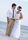 steph and lucas married on siesta beach florida