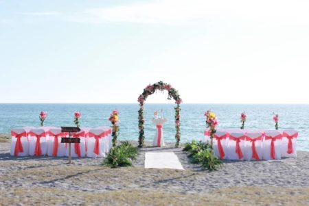 coral arch beach wedding siesta key | floridasunweddings