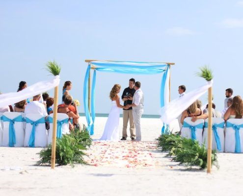 ocean waves aqua beach wedding package | floridasunweddings.com