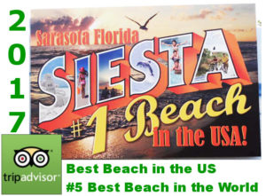 Siesta Beach #1 in the US #5 in the World
