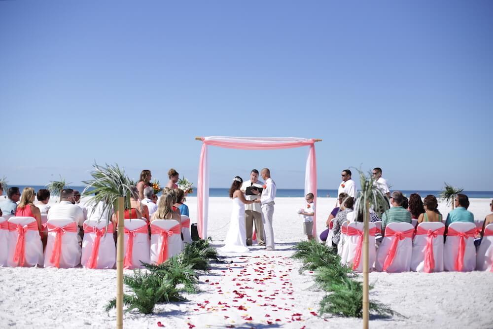 Florida Beach Destination Weddings | (941) 320-3364
