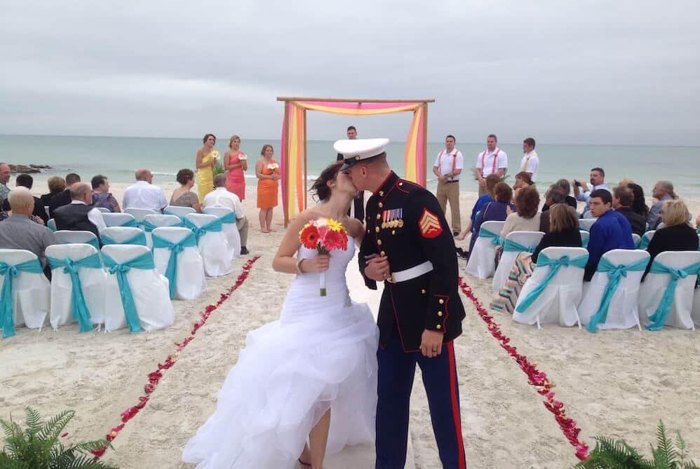 Whispering Sands Custom Colors Beach Weddings Package