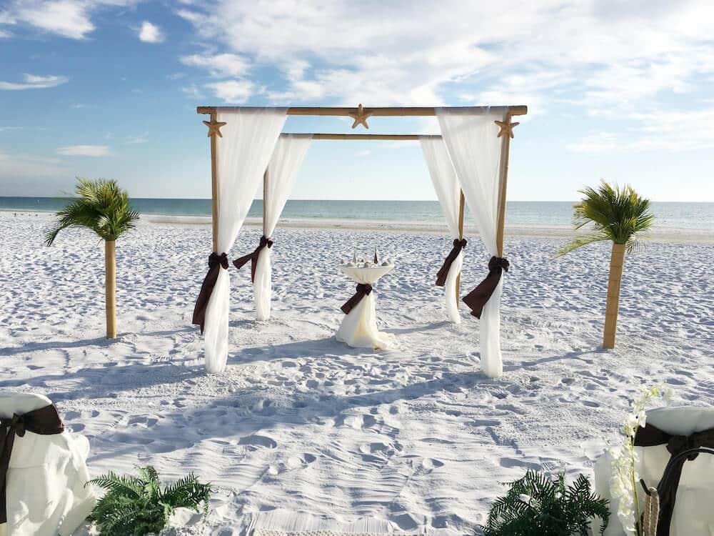 9 circle of love florida beach wedding siesta