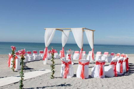 circle of love beach wedding package | florida beach wedding