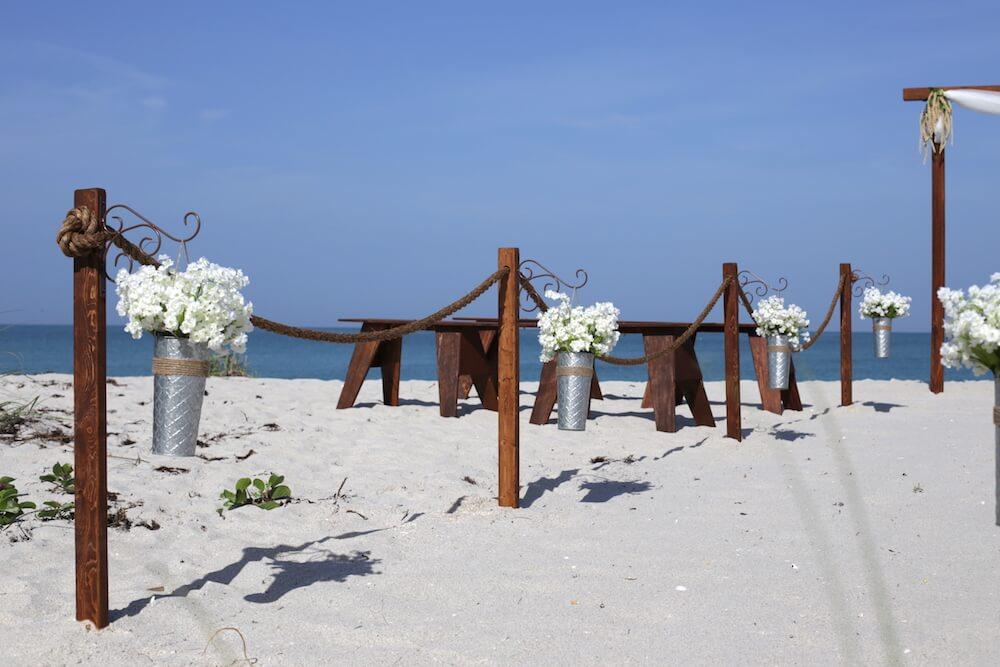 11. Arch Of Love - Florida Beach Wedding