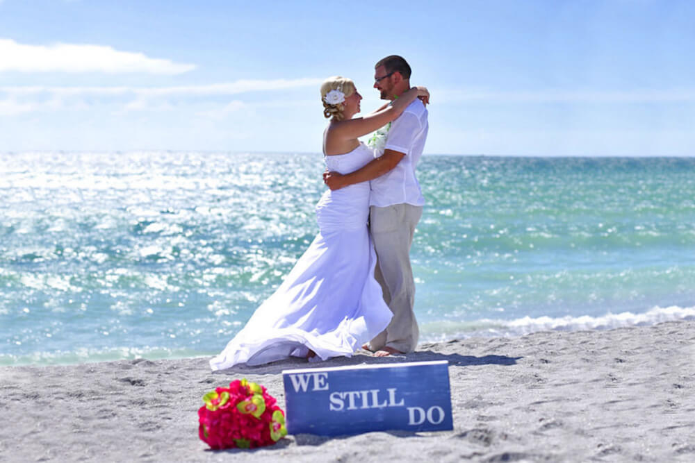 Beach Vow Renewal Ceremony Florida
