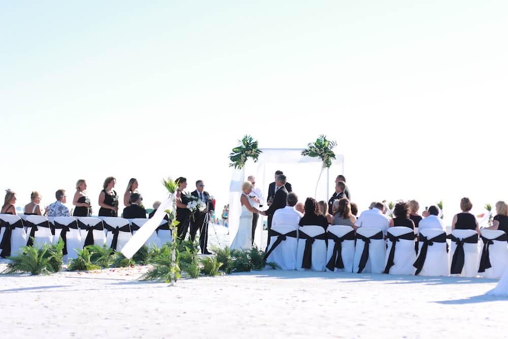 5. White Elegance | Florida Beach Wedding | Siesta Destination ...
