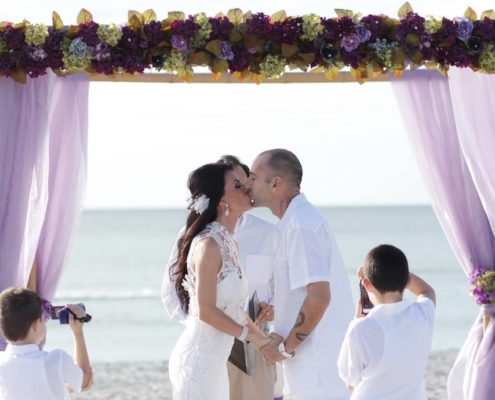 Nino & Rosies Beach Wedding Story