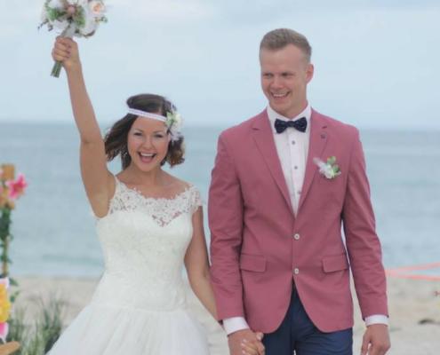 Sandra & Armands' My Florida Sun Wedding Story