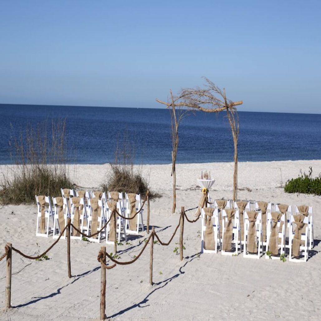 Siesta Key Beach Wedding Ceremony: Siesta Destination Wedding