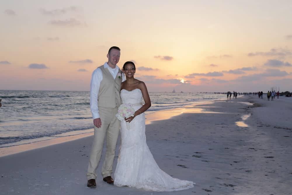 62908f0c128d Beach Wedding Attire by Florida Sun Weddings