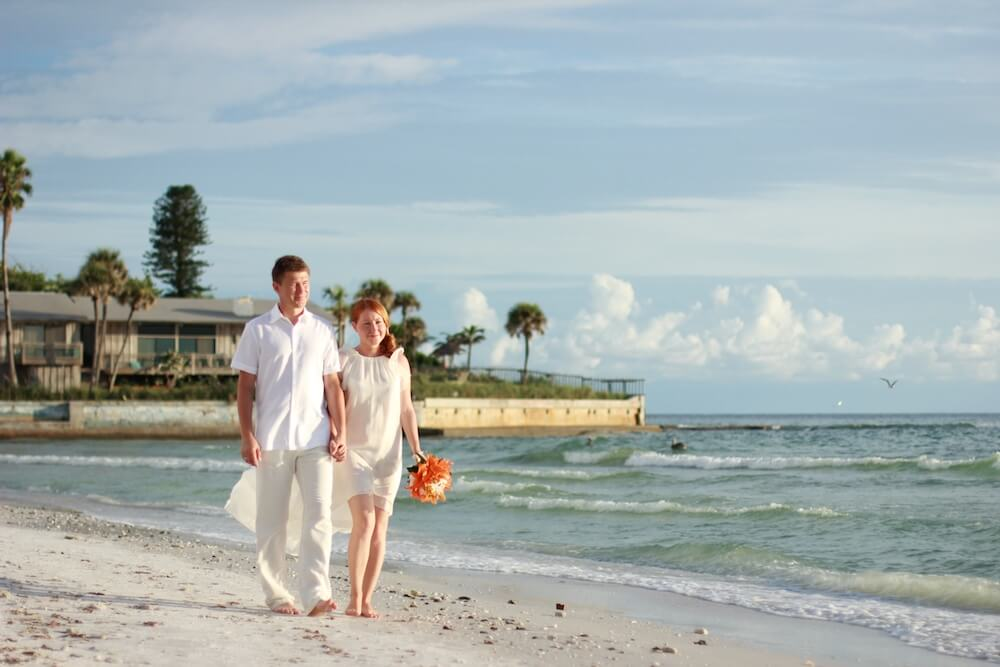 Beach Wedding Attire By Florida Sun Weddings