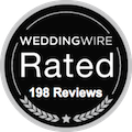 weddingwire rated 198 reviews for floridasunweddings