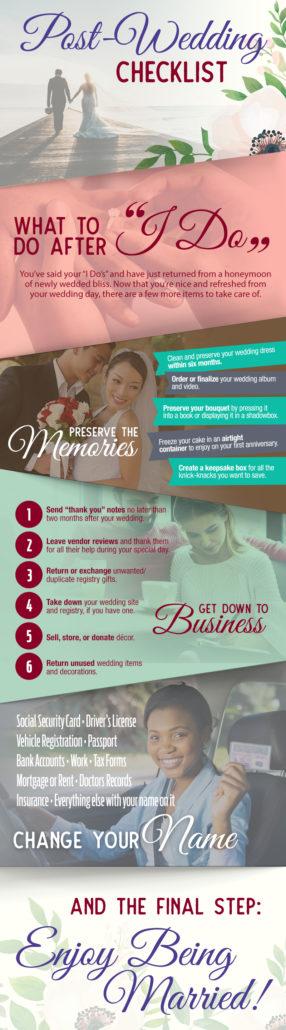 Post Wedding Checklist Florida Sun Weddings and Port Charlotte Honda