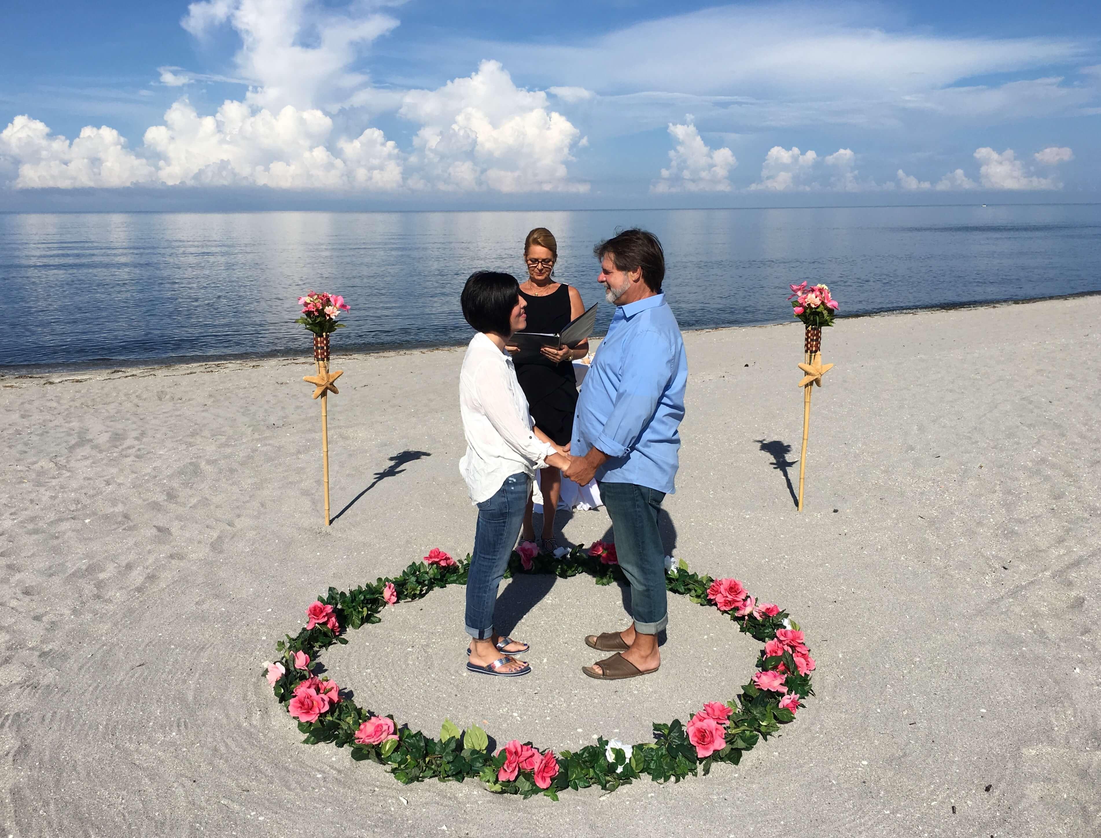 Vow Renewals On Florida Gulf Coast
