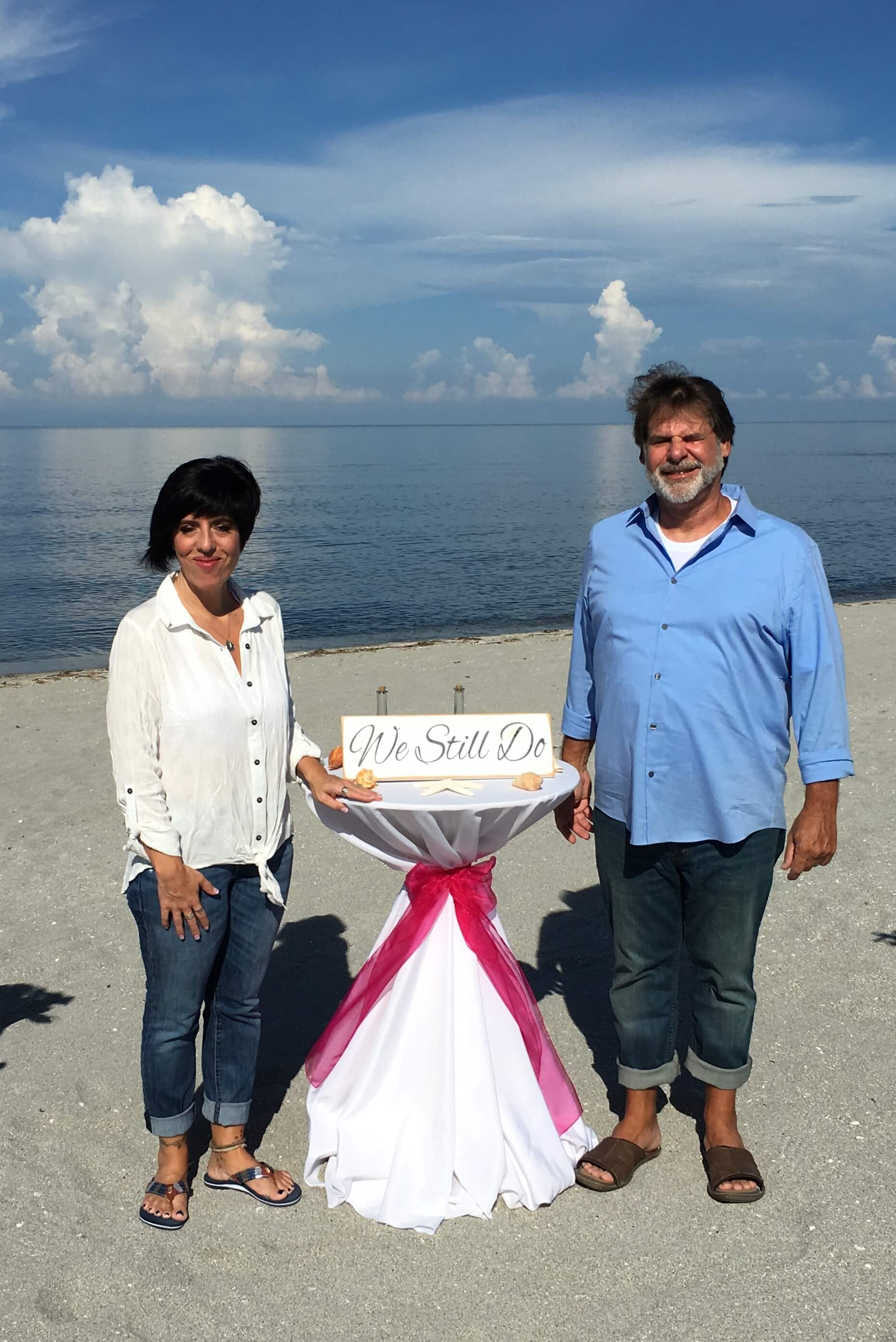 Vow Renewal with Florida Beach Weddings
