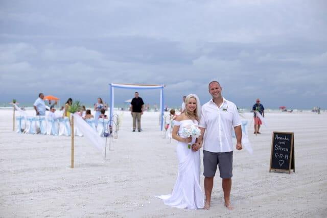 Siesta Key Beach Wedding Ceremony in Sarasota Florida