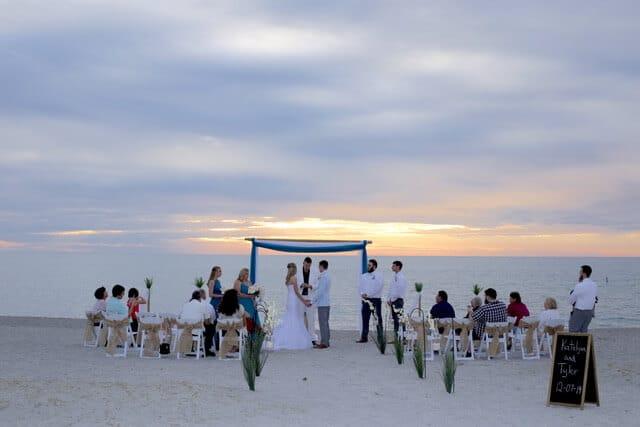 Venice Beach Wedding Ceremony in Sarasota Florida