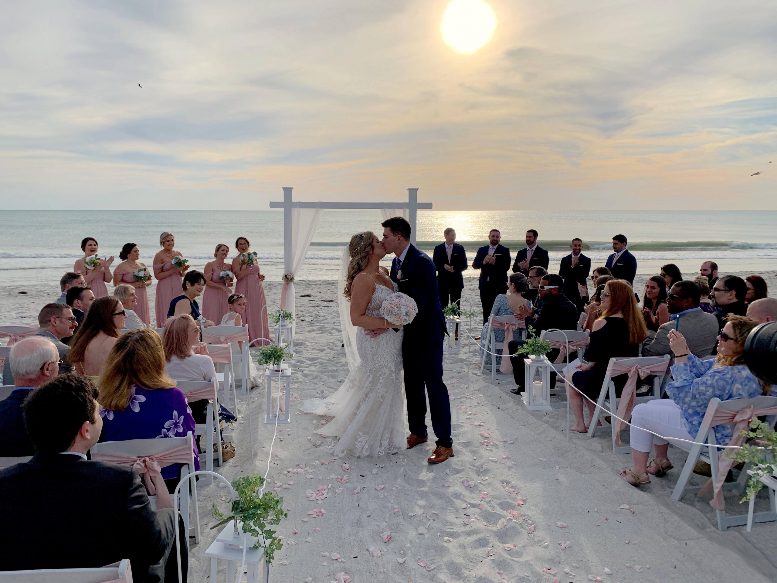 Florida Beach Wedding Ceremony in Sarasota Siesta Key Venice