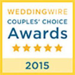 Wedding Wire 2015 Couple's Choice Award for Florida Sun Beach Weddings