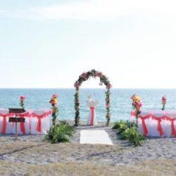 coral arch beach wedding siesta key | floridasunweddings