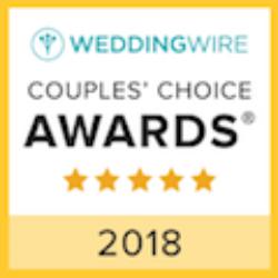 2018 weddingwire couples choice award