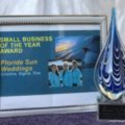 2017 Small Business of the Year Award- Siesta Key Chamber of Commerce