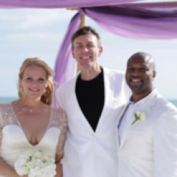 Scott Clark Beach Wedding Officiant for Florida Sun Weddings