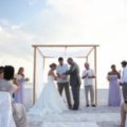 white whispering sands beach wedding package | florida beach wedding