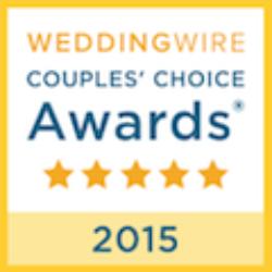 2015 weddingwire couples choice award