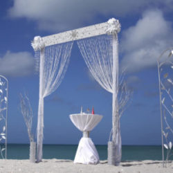 Ocean Bling beach wedding package