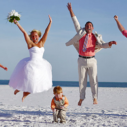 Florida Sun Weddings Beach Photography by Cristina Gebel