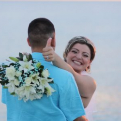 Two By The Sea Beach Elopement Ceremony in Florida